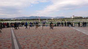 阪神競馬場ゴール前
