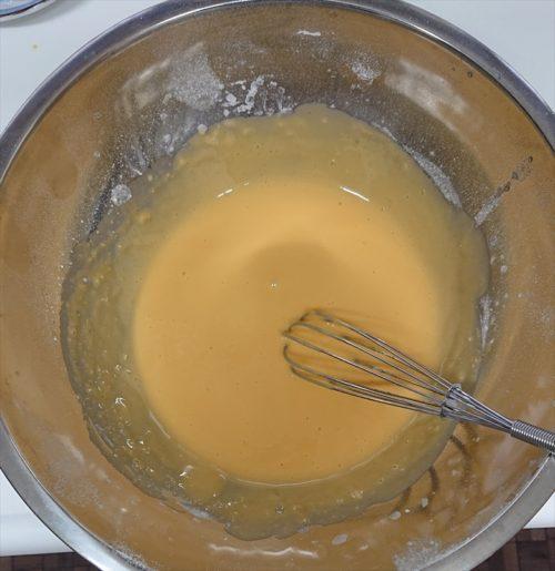 シフォンケーキ作り方2
