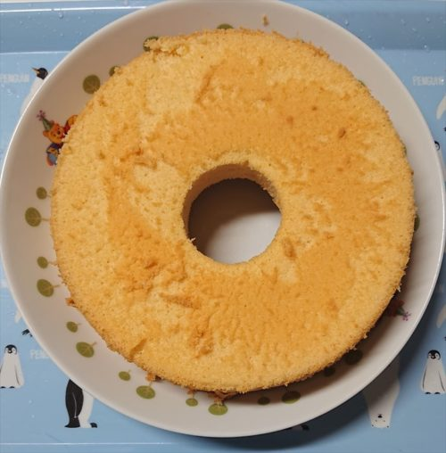 シフォンケーキ作り方6